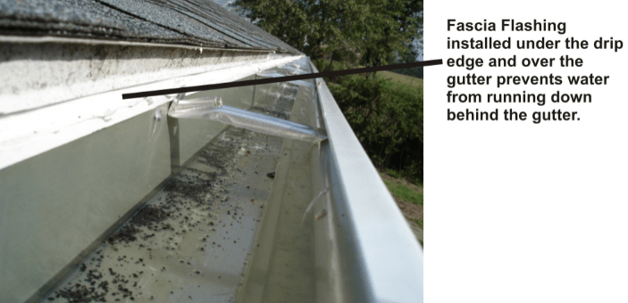 Fascia Flashing Amerigutter Gutter Guards Leaf Guard